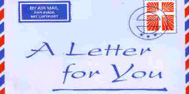 A letter for you